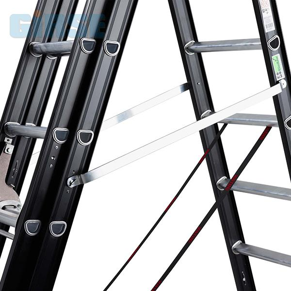 Hervorragend Altrex Aluminium Mehrzweckleiter Mounter 3x8-3x14 Sprossen WS93